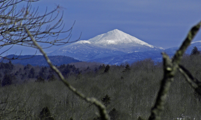 First, I want you to take a mental snapshot of this view of Mount Marcy from Route 28N in Newcomb.