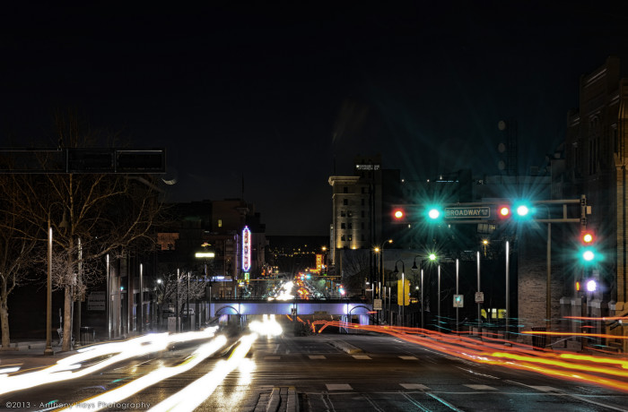 1. Even Albuquerque's traffic can be beautiful when captured by the right photographer.
