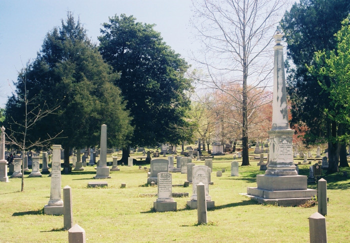 4. Maple Hill Cemetery - Huntsville