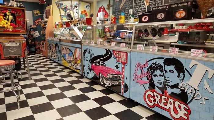 9. Golden Years Ice Cream Parlor - Hazel Green, AL