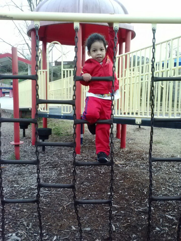 3. Playground at Riverfront Park - Sheffield