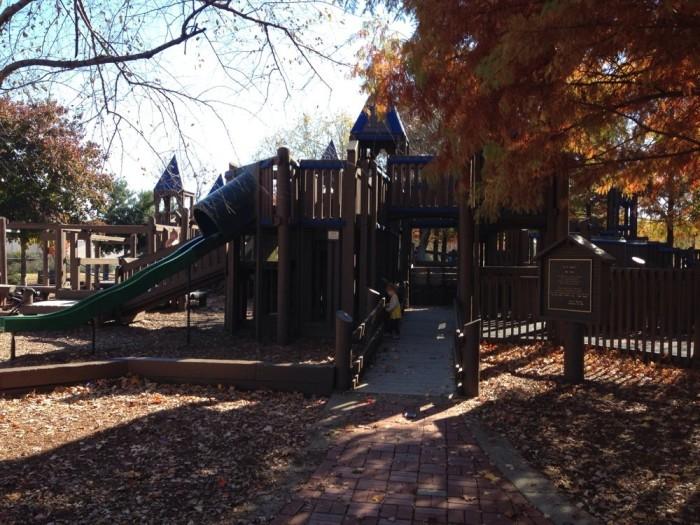 1. Kids' Space Park Playground - Huntsville