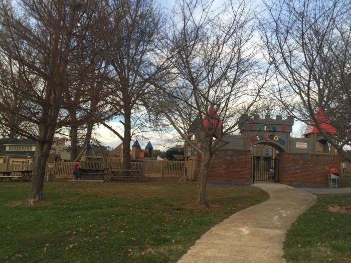 5. Kid's Kingdom Playground at Dublin Park - Madison