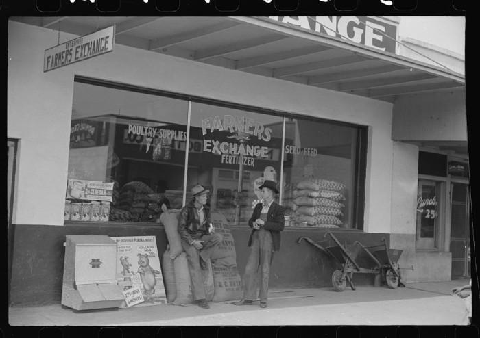9. The Farmers Exchange in Enterprise, Alabama.