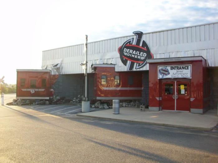 1. Derailed Diner - Robertsdale, AL