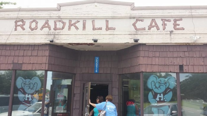 7. Roadkill Cafe - Elberta, AL