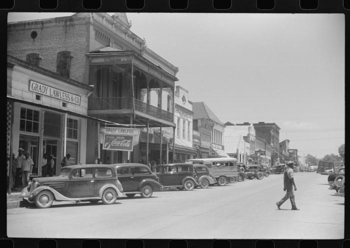 10. Main street of Greensboro - May 1941.