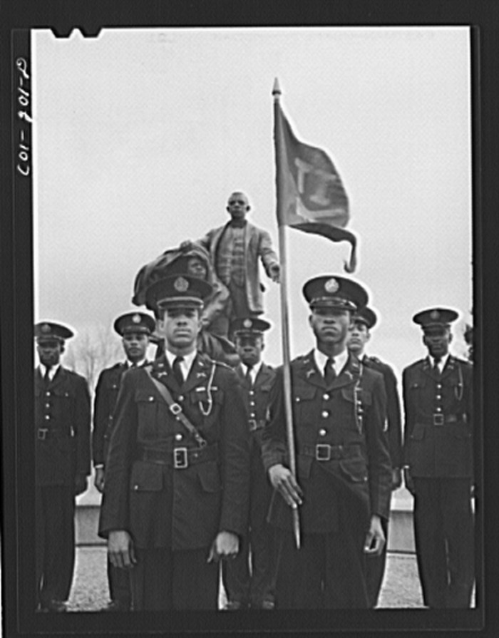 14. Tuskegee Institute, Alabama. Reserve Officers Training Corps - March 1942.