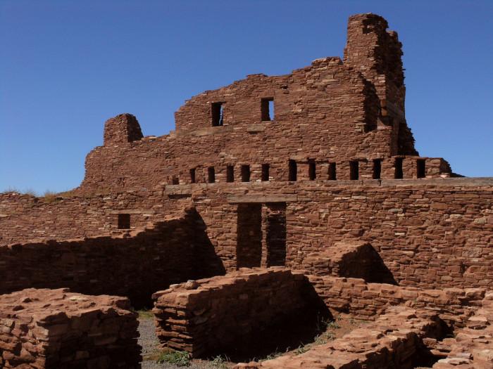 4. Abó Ruins, Near Mountainair