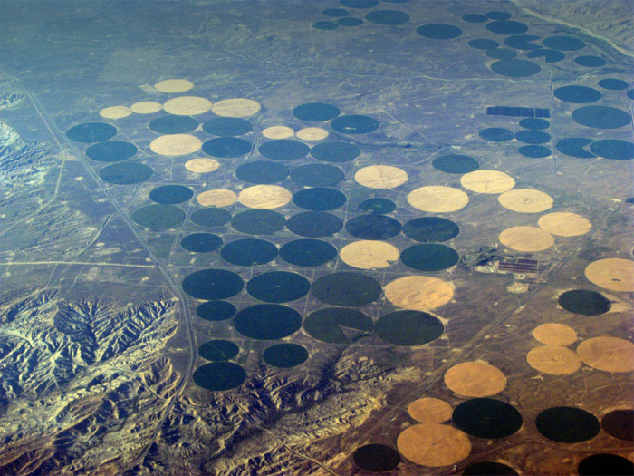 9. Bloomfield: The farmland in the northwestern part of the state resembles a giant board game from above!