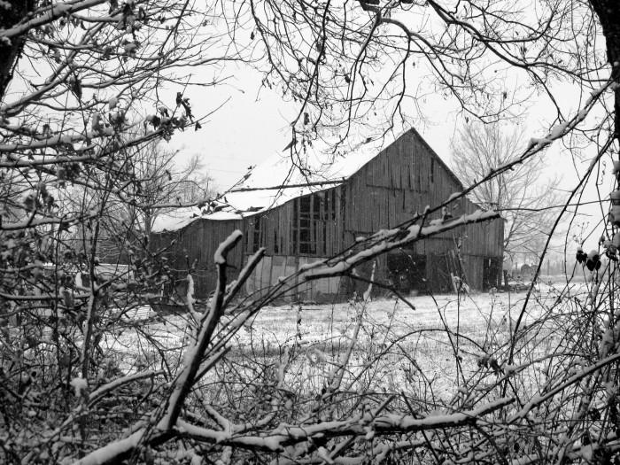 9. An old barn
