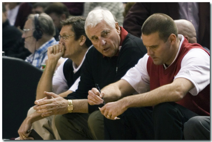 12. Every Hoosier has their own opinion about Bob Knight and has at least once caught somebody in a deep discussion about aggressive scenarios. The Anger Management conversations are a must have.