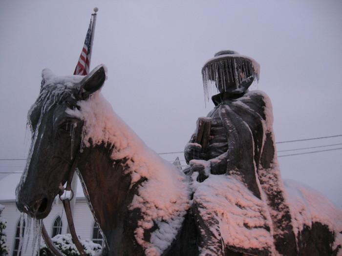 18. Asbury statue