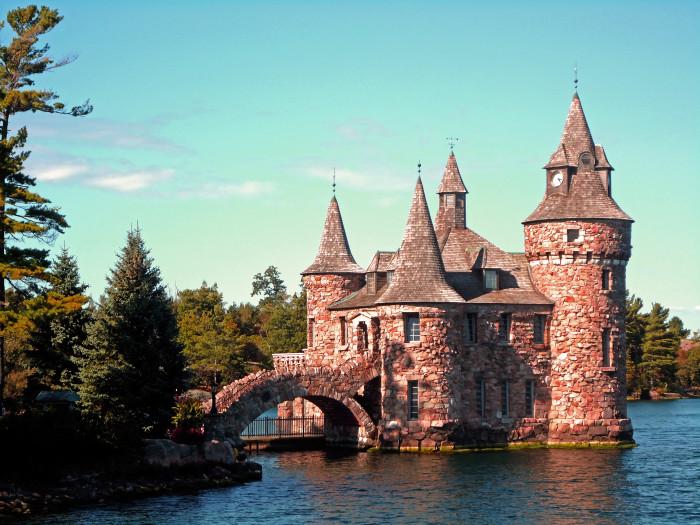Island New York Castle
