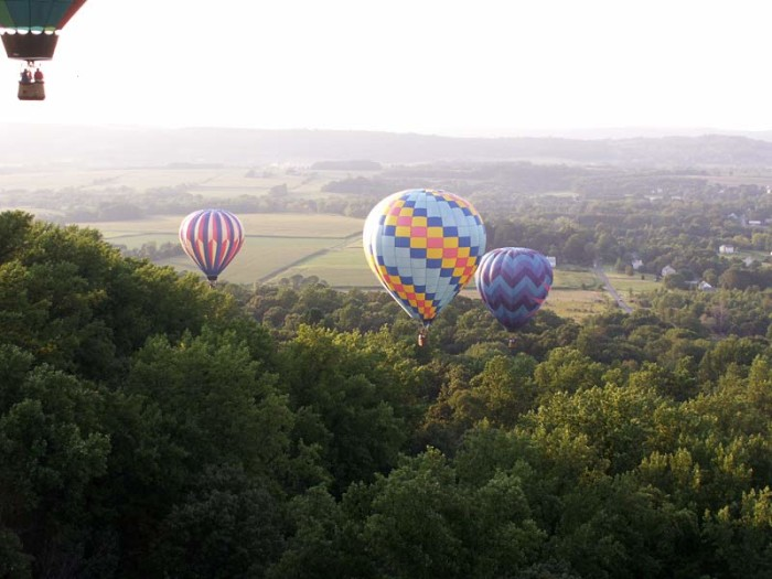 7. The Overnight Romantic Adventure Getaway Package from In Flight Balloon Adventures.