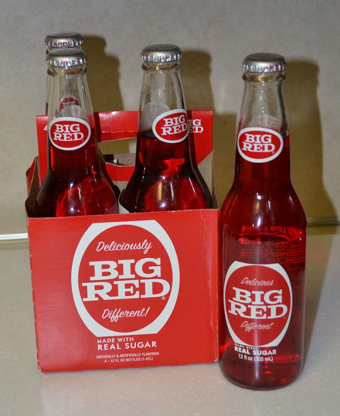 2. Big Red Soda
