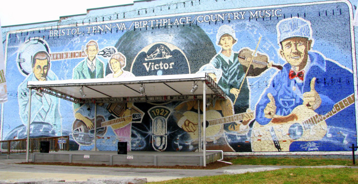 """9. Virginia is recognized as the """"birthplace of country music."""""""