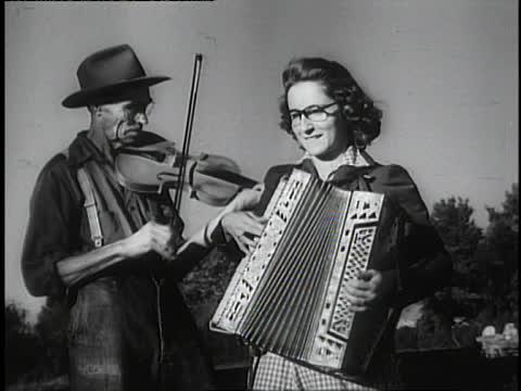 12. Bluegrass musicians