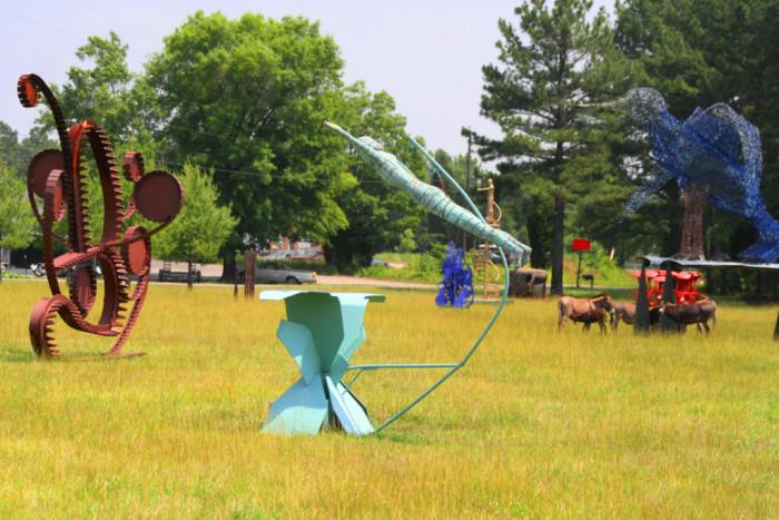 9. Bob Cage's Sculpture Farm, South Boston