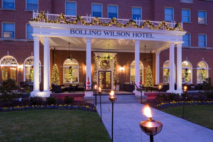 2. The Bolling Wilson Hotel, Wytheville