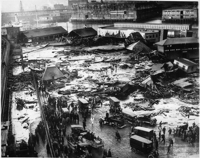 2. The Great Molasses Flood