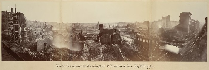 3. The Great Boston Fire of 1872