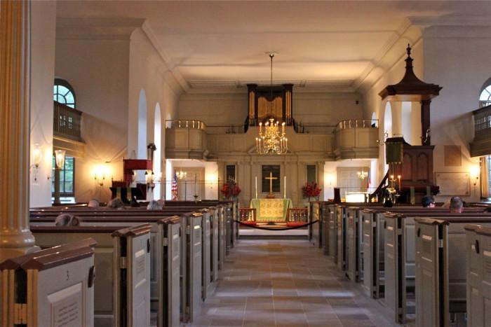 Bruton Parish inside