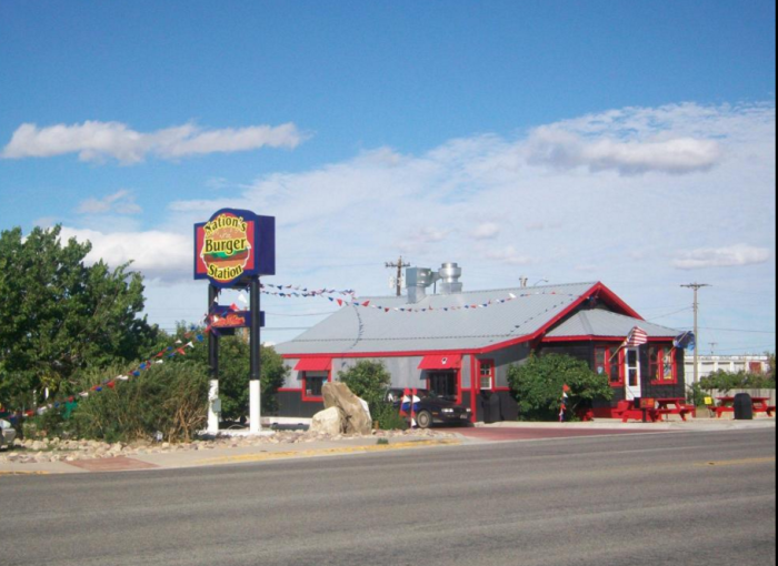 5. Nation's Burger Station, Browning