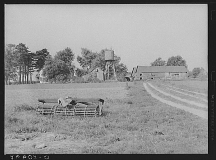 6. Like many farms at the time, this Burlington County farm employed migrant workers seasonally.