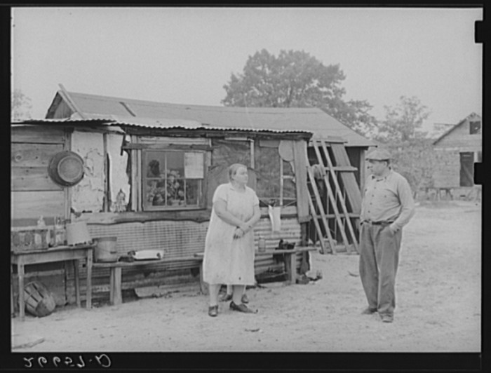4. This family moved from Philadelphia in hopes of a better life on the farm. Taken in Burlington County circa 1938.