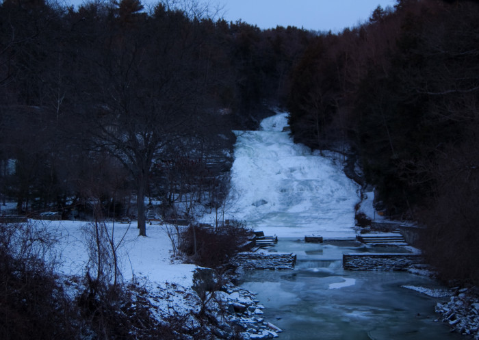 1. Buttermilk Falls