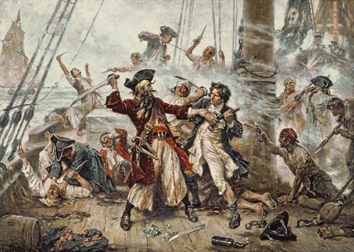 6. Ocracoke, Blackbeard's death.