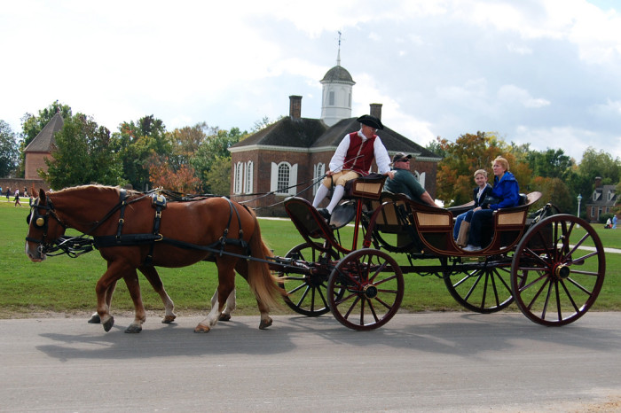 8. You can travel in style with a carriage ride.