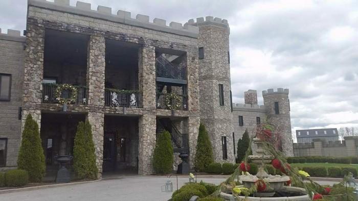 9. Castlepost Courtyard.