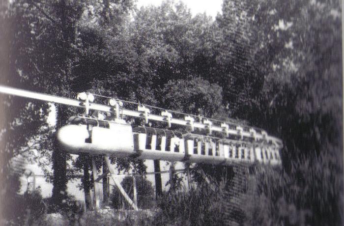 11. Cedar Point Monorail ride, circa 1960