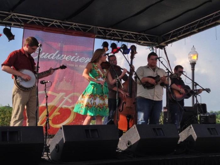 12. Celebrate the spirit of Bluegrass Music.
