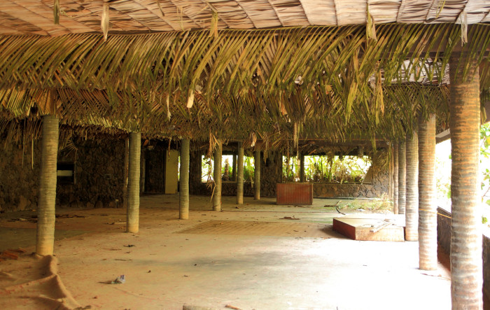 "In the early 1960s, Elvis Presley filmed the luau scenes in his movie, ""Blue Hawaii"" in this very banquet room."