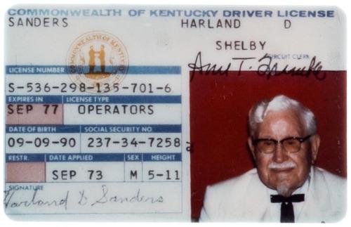 15. Colonel Sanders
