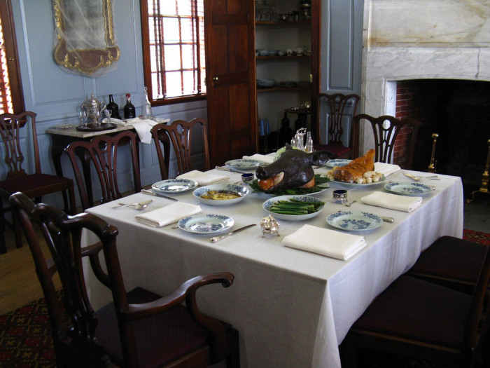 3. You can witness the daily activities of the colonial wealthy, middle-class and enslaved.