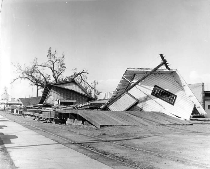 17. After the Columbus Day Storm in Newberg, 1962.