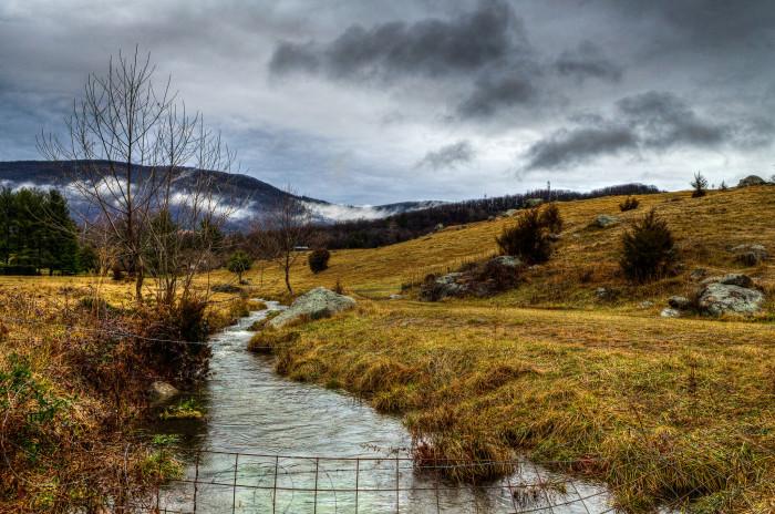 Crozet creek