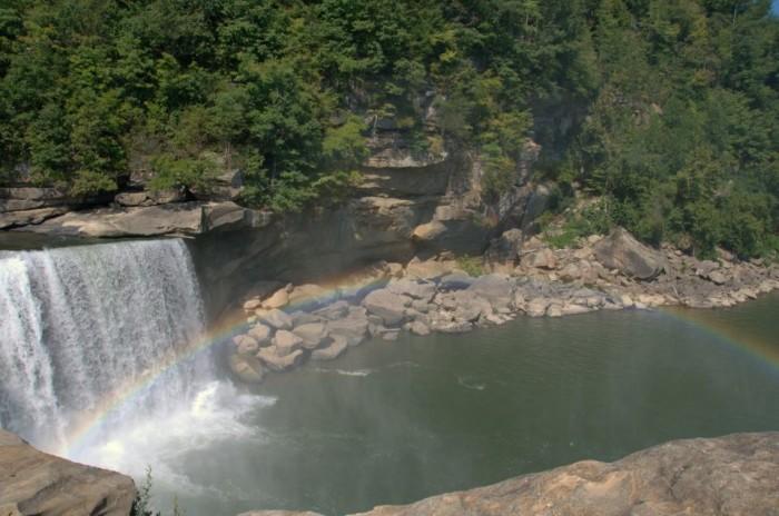 Cumberland Falls moonbow.