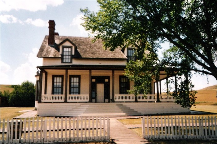 3. The Custer House