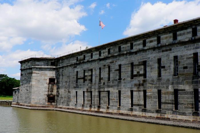 8. Delaware: Fort Delaware, Pea Patch Island