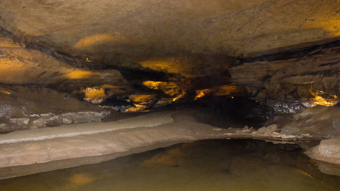 8. Visited Marengo Cave or at least saw the sign pointing there.
