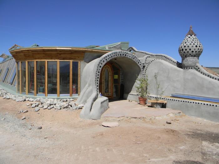 3. Earthships, Near Taos