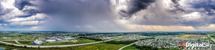 24. A wider shot of the same approaching storm. Beautiful!