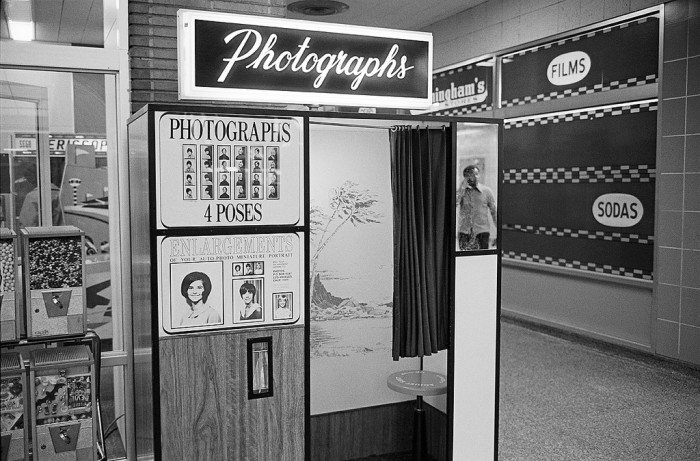 15) Detroit, 1973 photo booth