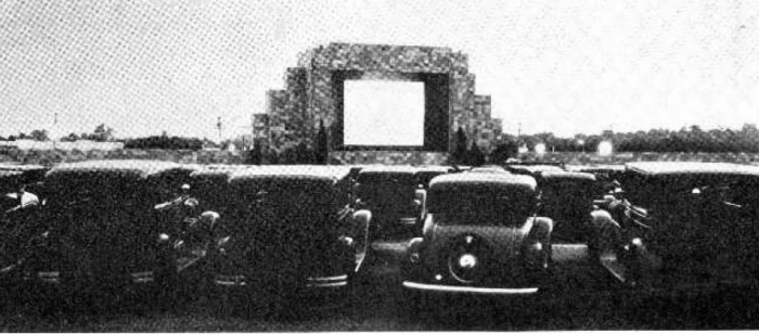 12. The first ever drive-in movie theater (pictured) opened in Camden County (Pennsauken) in 1933.