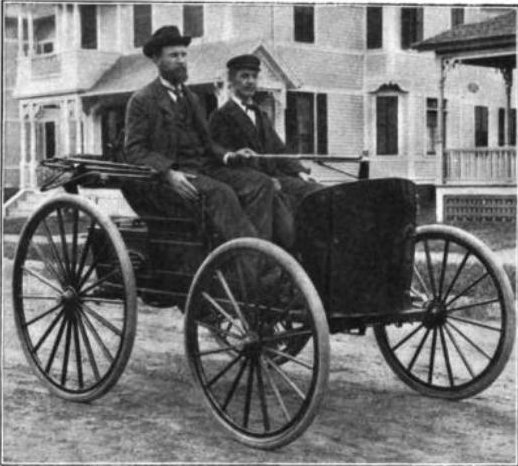 10. In 1892, the first successful gasoline-powered automobile was perfected by Charles and Frank Duryea in Springfield. Looks like a pretty slick ride.